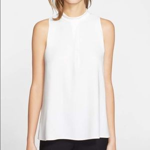 Theory Brand New white sleeveless flowing top